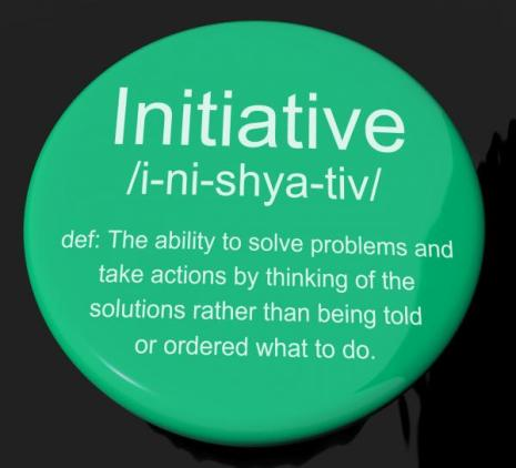 initiative-definition-button-showing-leadership-resourcefulness-and-ac